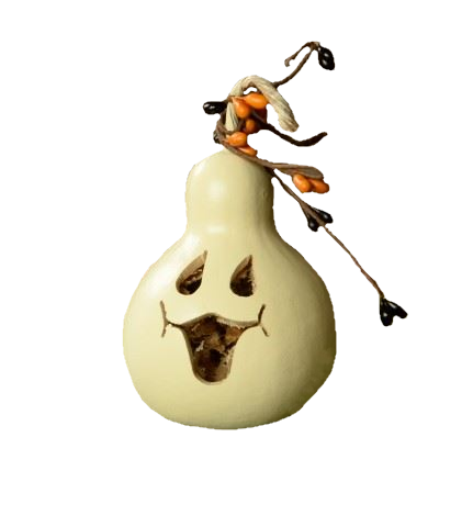 Party Treat - Ghost Face by Meadowbrooke Gourds