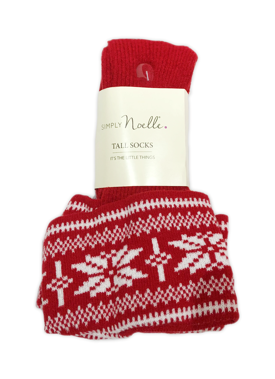 Snow It All Tall Socks by Simply Noelle
