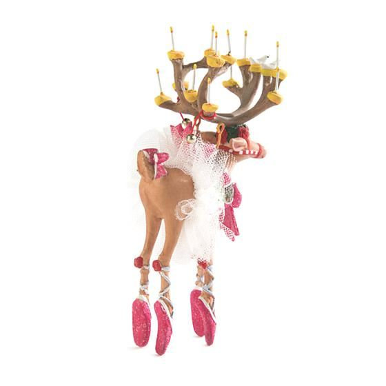 Dash Away Dancer Mini Ornament by Patience Brewster