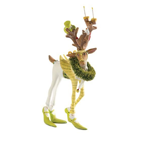 Dash Away Prancer Mini Ornament by Patience Brewster