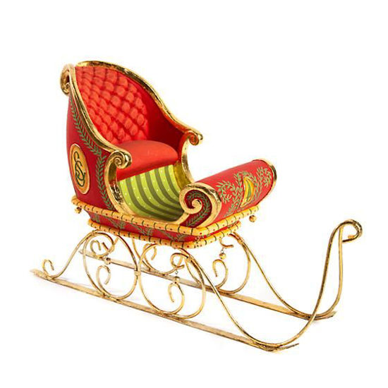 Dash Away Sleigh Figure by Patience Brewster