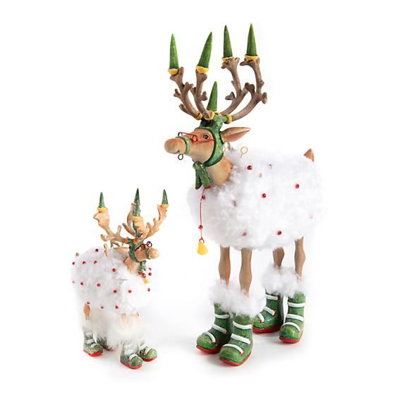 Dash Away Blitzen Figure by Patience Brewster