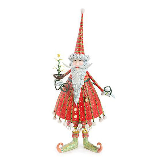 Dash Away Dashing Santa Figure by Patience Brewster
