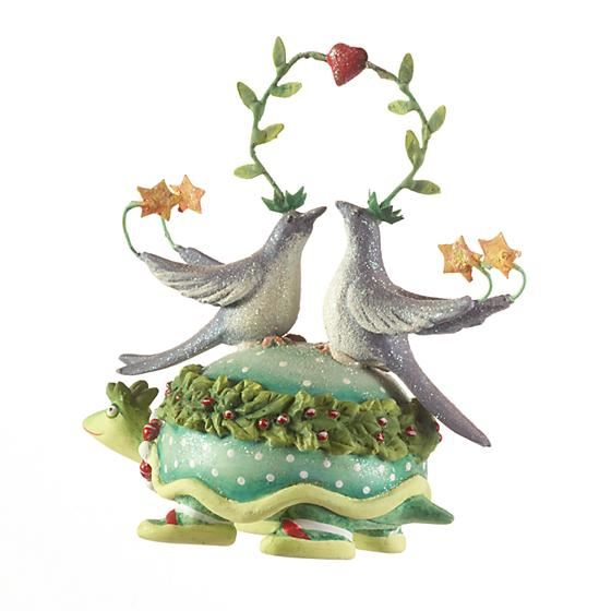 12 Days 2 Turtle Doves Ornament by Patience Brewster