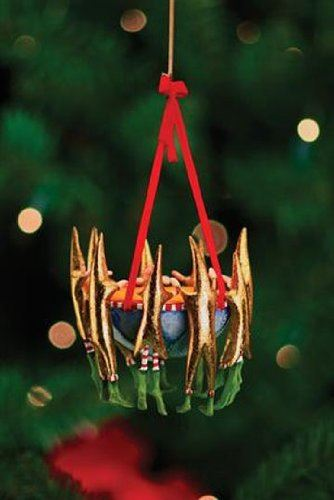 12 Days 9 Drummers Ornament by Patience Brewster