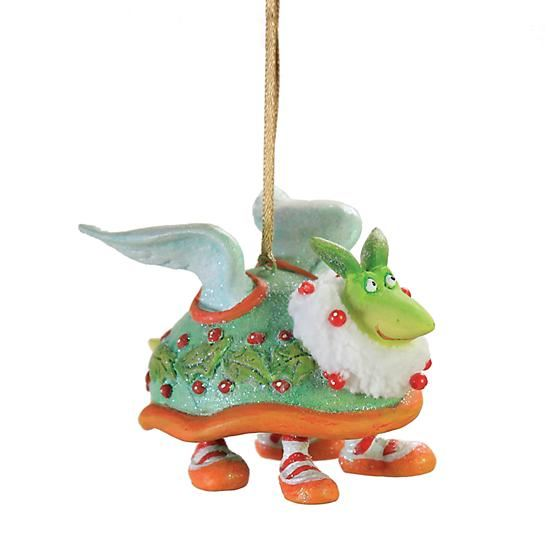 Turtle Dove Mini Ornament by Patience Brewster