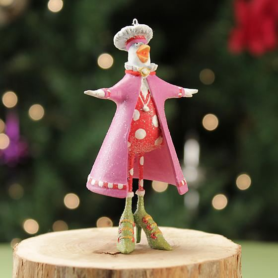 Calling Bird Mini Ornament by Patience Brewster