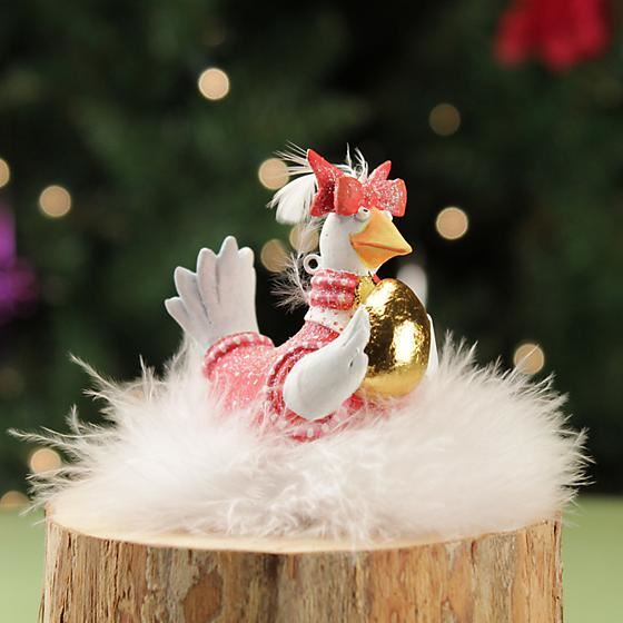 Goose Mini Ornament by Patience Brewster