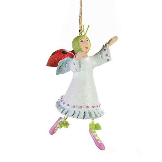 Lady Mini Ornament by Patience Brewster
