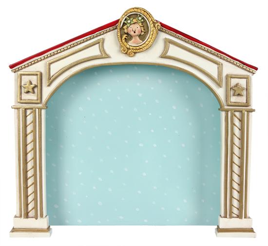 Winter Wonderland Stage by Lori Mitchell
