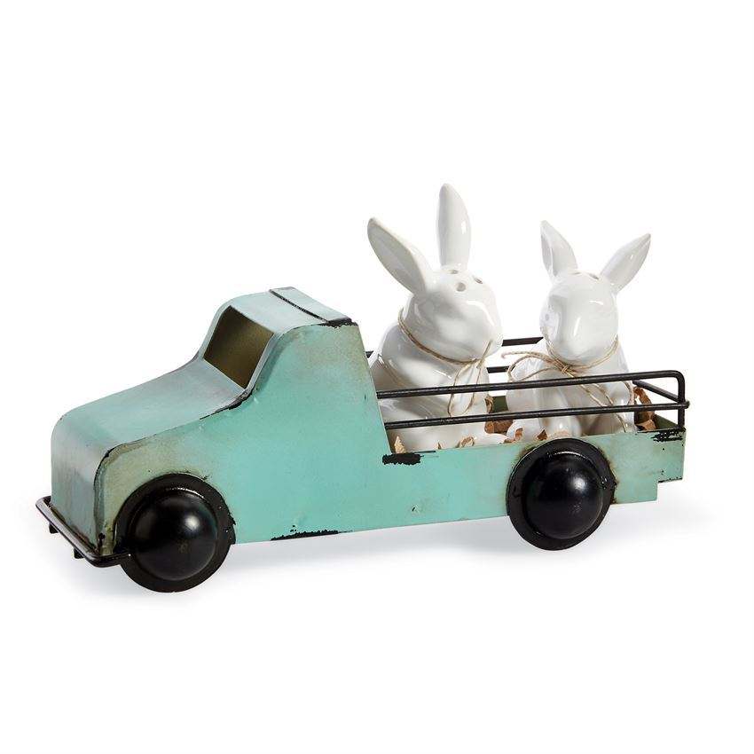 Truck Bunny Salt and Pepper by Mudpie