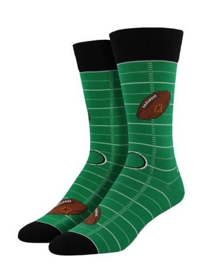 Football Men's Crew Socks by Socksmith