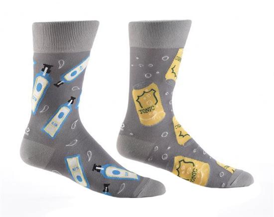 Gin & Tonic Men's Crew Socks by Yo Sox