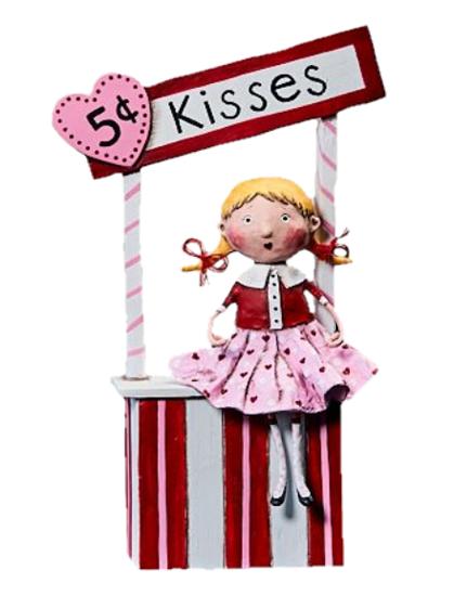 5¢ Kisses by Lori Mitchell