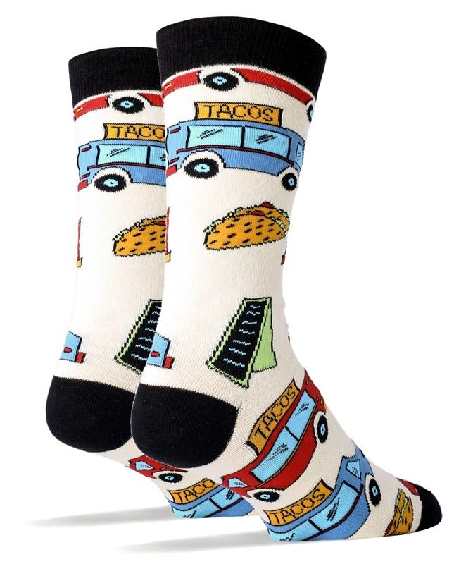 Taco Truck Men's Socks by OOOH Yeah Socks