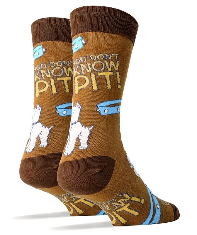 Don't Know Pit Men's Socks by OOOH Yeah Socks
