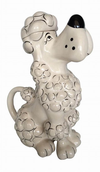 Toy Poodle Teapot by Blue Sky Clayworks