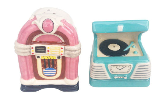 Juke Box Salt & Pepper Set by Blue Sky Clayworks
