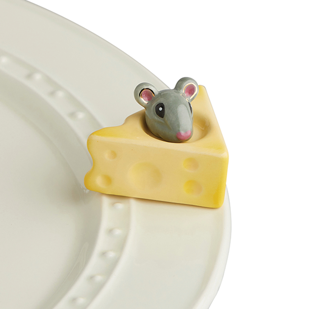 Cheese, Please! (Mouse & Cheese) Mini by Nora Fleming