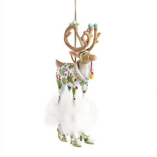 Dash Away Vixen Ornament by Patience Brewster
