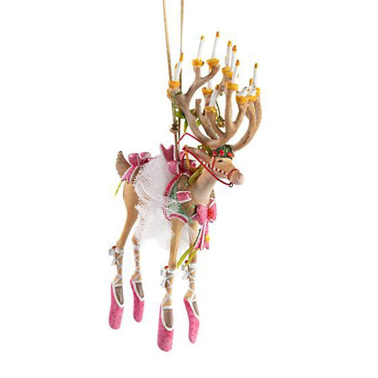 Dash Away Dancer Ornament by Patience Brewster