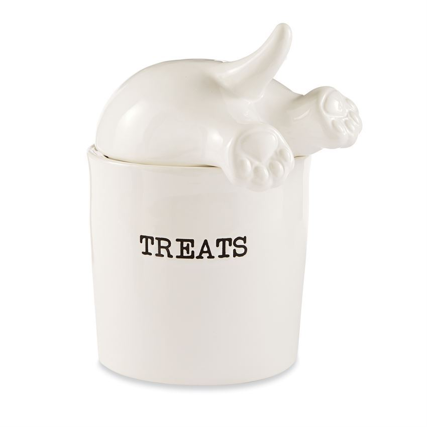 Dog Tail Treat Canister by Mudpie