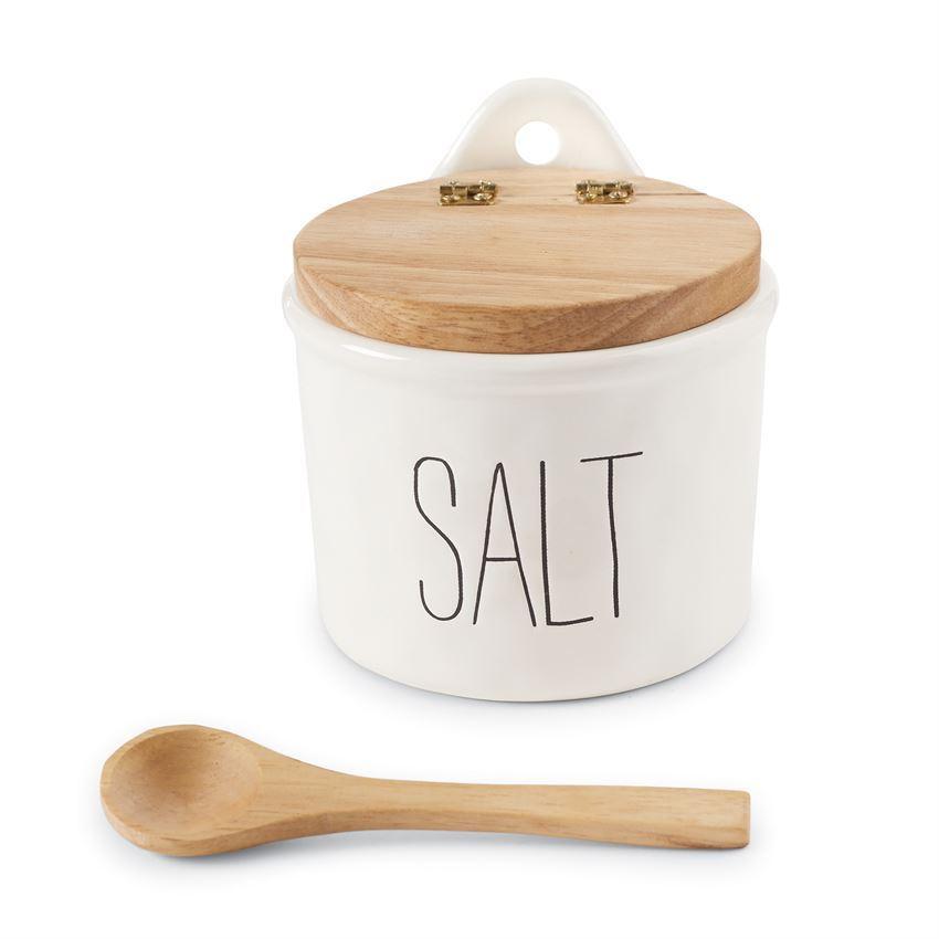 Bistro Salt Cellar Set by Mudpie