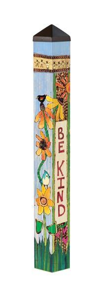 Be Kind 3' Art Pole by Studio M