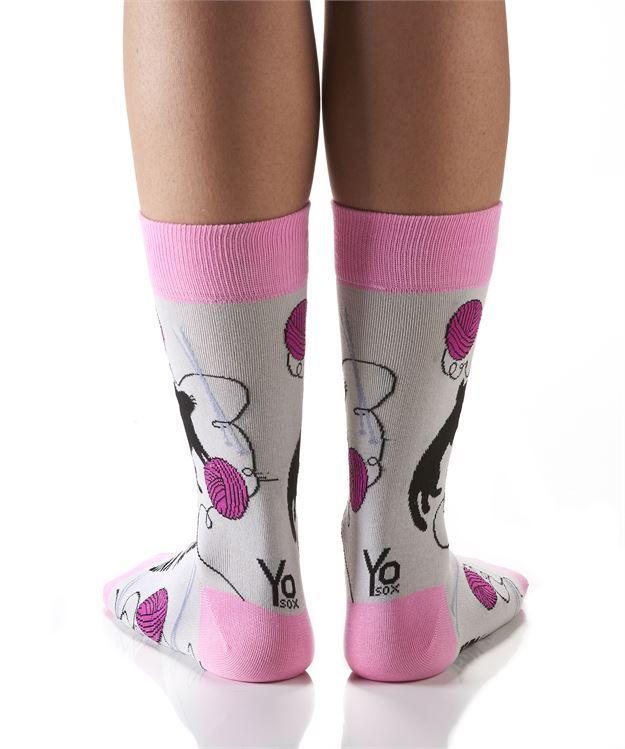 Team Knit Women's Crew Socks by Yo Sox