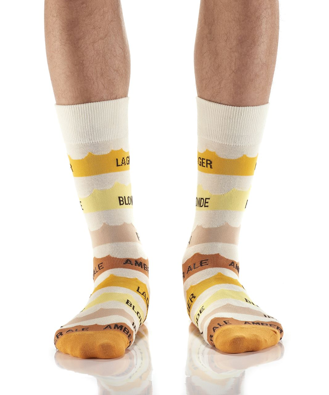 Know Your Beers Men's Crew Socks by Yo Sox