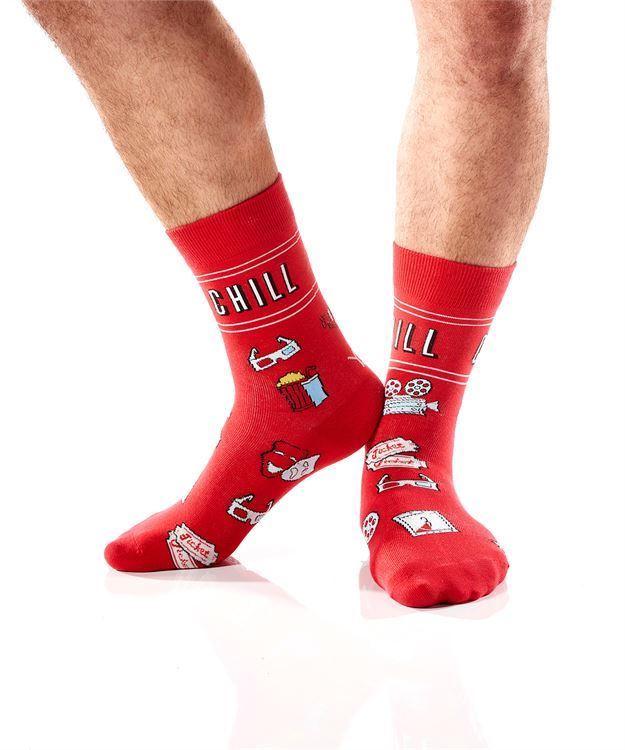 Chill Men's Crew Socks by Yo Sox