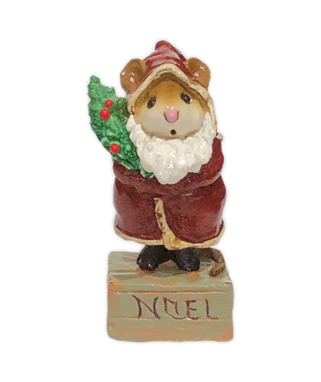 Father Chris-Mouse M-164 Red by Wee Forest Folk®