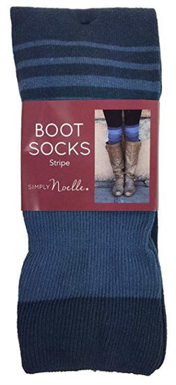Stripe Sock (Blue) by Simply Noelle