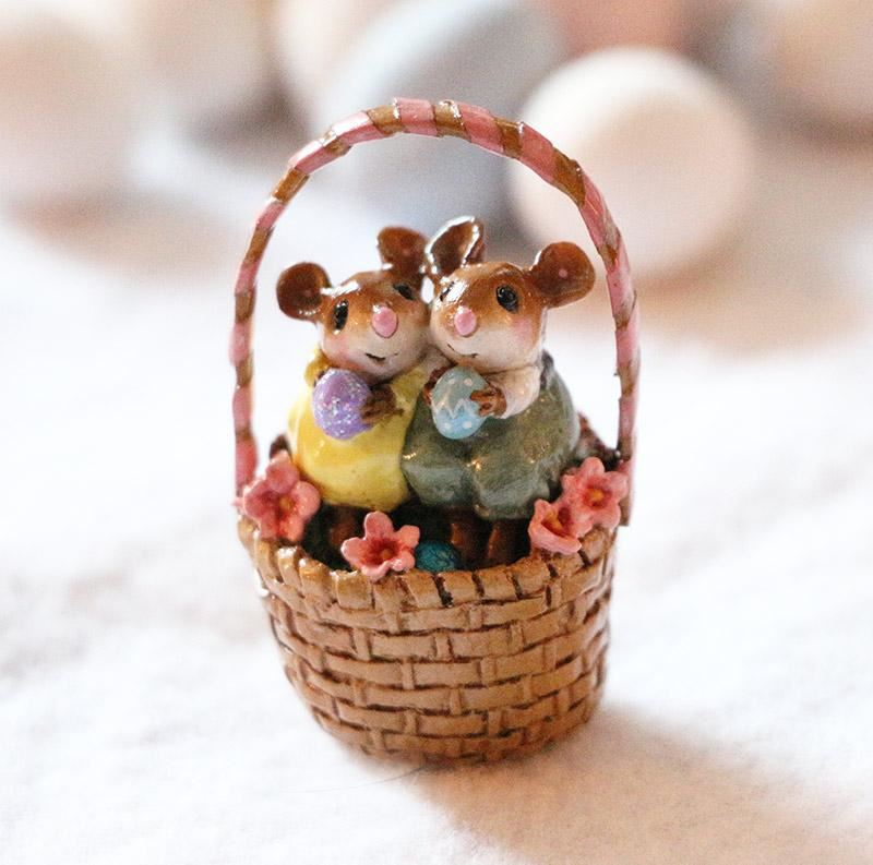 Cozy Easter Couple M-523 by Wee Forest Folk®