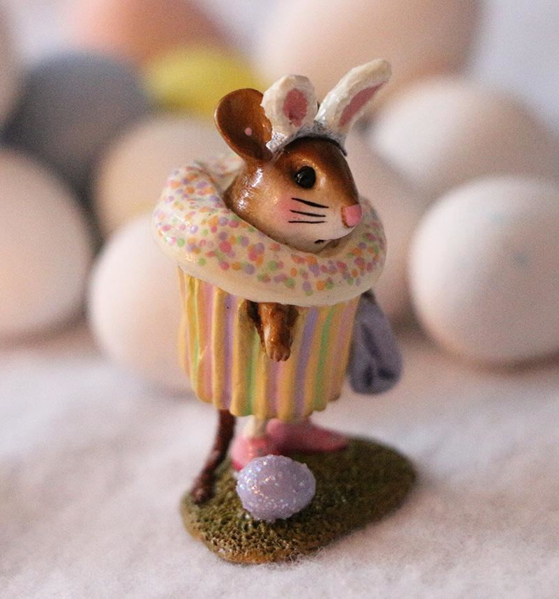 Easter Cupcake Treat M-574g by Wee Forest Folk