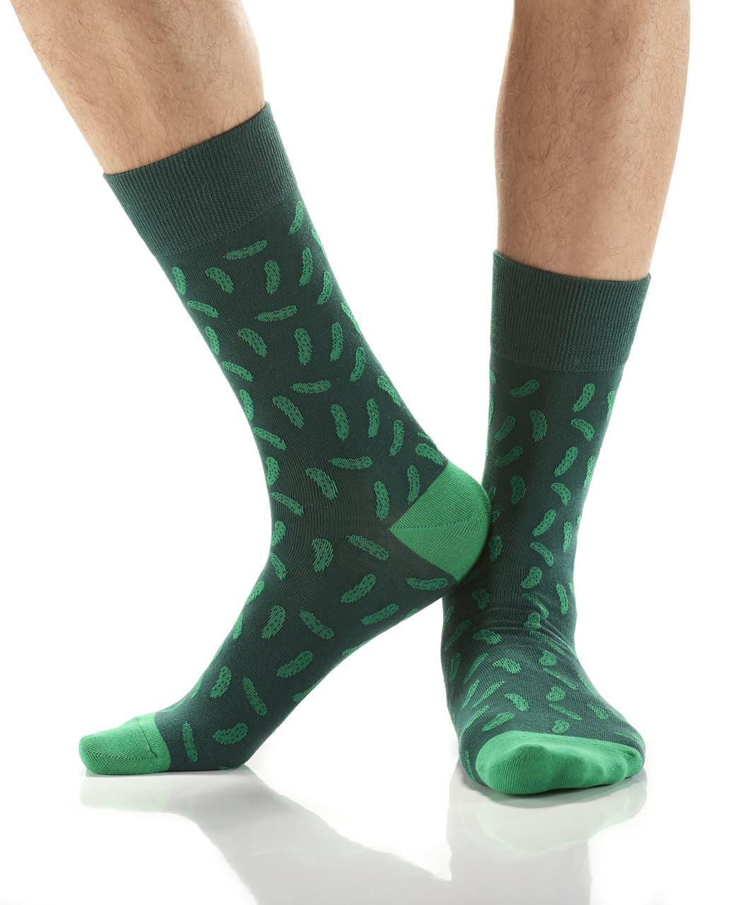 Pickles Men's Crew Socks by Yo Sox