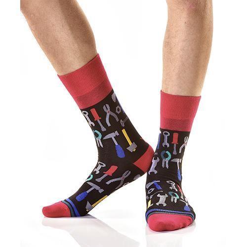 Tools Men's Crew Socks by Yo Sox