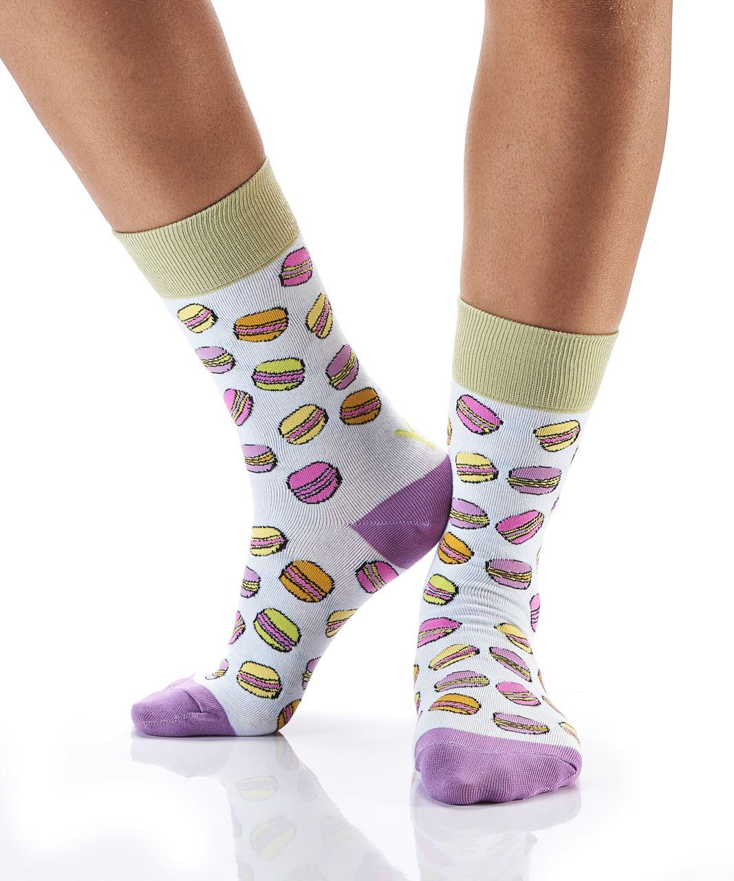 Macaroon Women's Crew Socks by Yo Sox