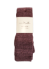 Weave It To Me Tall Socks (Mauve) by Simply Noelle