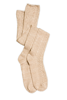 Weave It To Me Tall Socks (Pearl) by Simply Noelle
