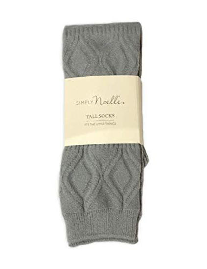 Snug It Out Tall Socks (Steel) by Simply Noelle