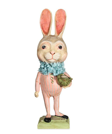 Tall Bunny with Cauliflower by Bethany Lowe Designs
