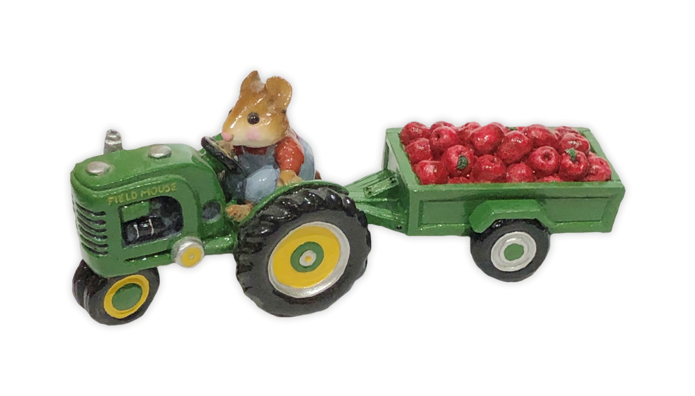 Cart with Apples (green) for Habitat Hideaway