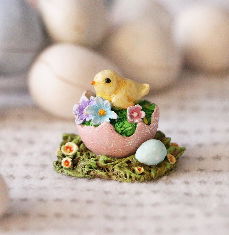Easter on the Half Shell A-53 by Wee Forest Folk