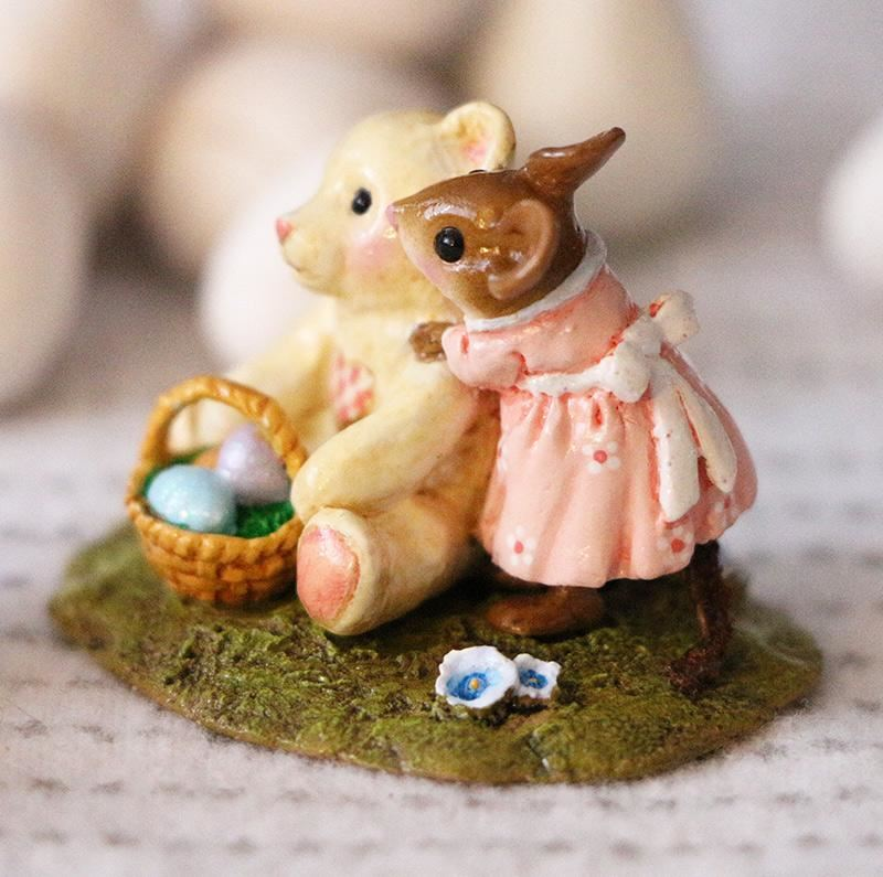 Teddy's Easter Hug M-522 by Wee Forest Folk®