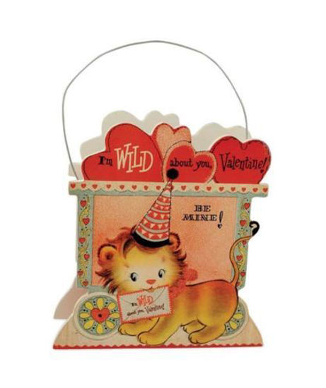 Wild About You Lion Bucket by Bethany Lowe Designs