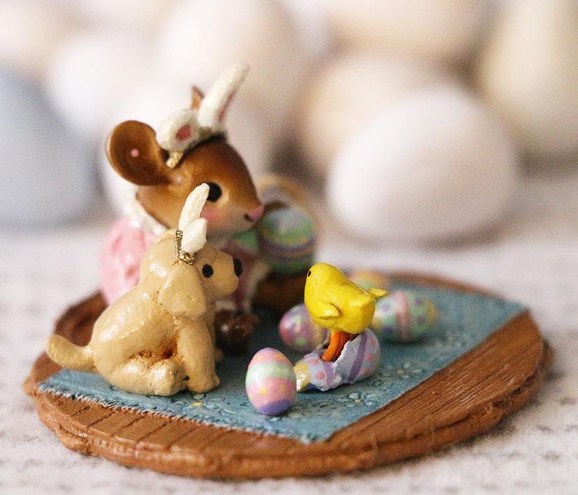 Peep, Peep...Surprise! M-353b by Wee Forest Folk®