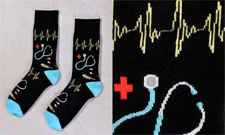 Doctors Icons Men's Crew Socks by Yo Sox