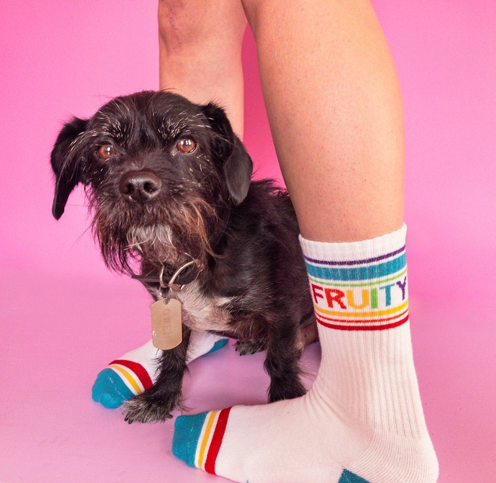 Fruity Gym Socks by Gumball Poodle