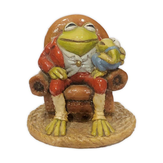 Grandpa Frog F-05 Rust by Wee Forest Folk®